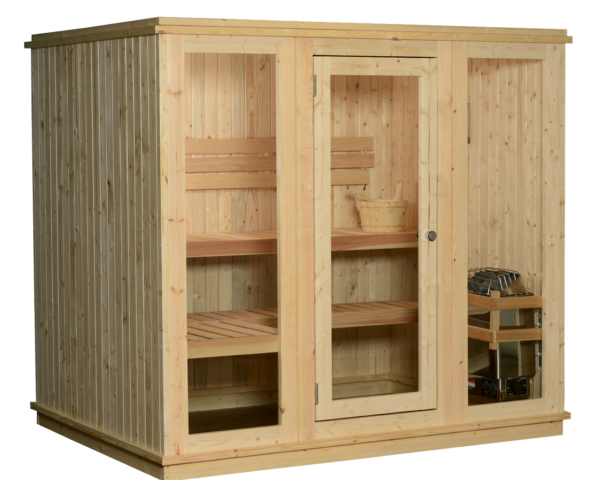 Indoor Sauna Quad 4