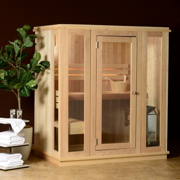 Petite Indoor Sauna 3