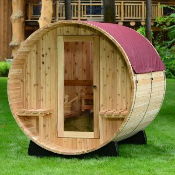 barrel sauna rain jackets
