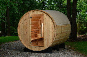 barrel sauna rain jackets