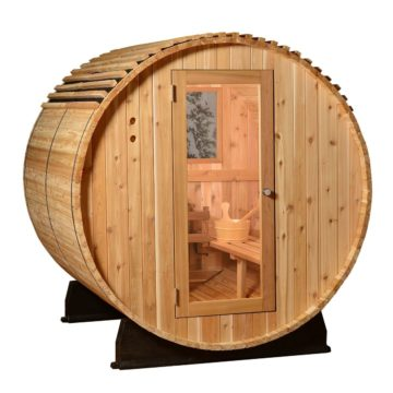 Vista Rear Window for Barrel Sauna