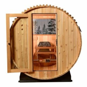 Vista Rear Window for Barrel Sauna