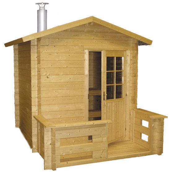 Outdoor Cabin Deluxe Sauna